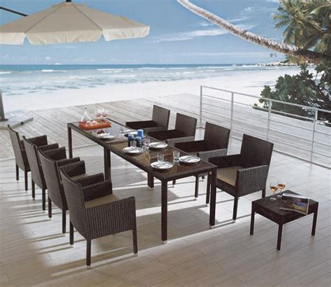 paige 10 pieced patio dining set tropical patio