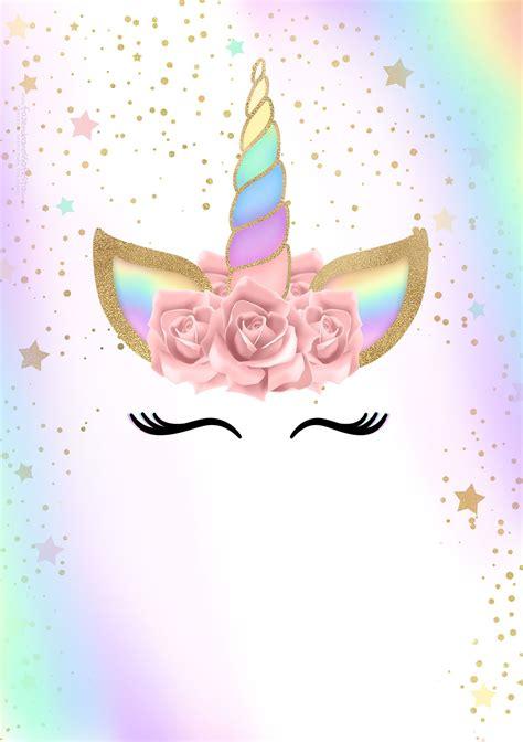 imagenes unicornios gratis convite unicornio gratis 2 jpg 1 410 215 2 000 pixeles spas