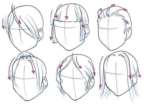 how to draw bangs how to draw anime hair with bangs