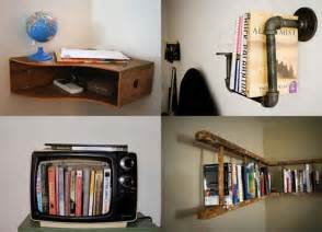 30 diy shelving ideas recycling and saving money on