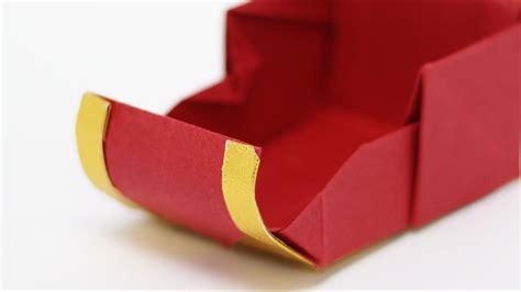 How To Make A Paper Santa Sleigh - origami santa s sleigh jo nakashima time lapse