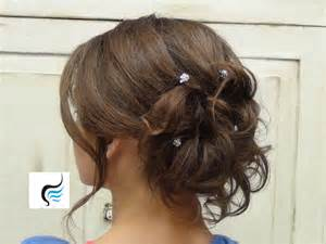 soft updo hairstyles soft curled updo for long hair prom or wedding hairstyle