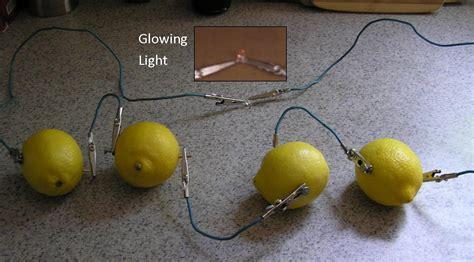 how to a lemon battery light a light bulb potato electricity images