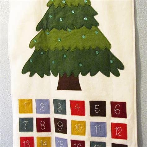 pattern felt ornament advent calendar pattern pdf
