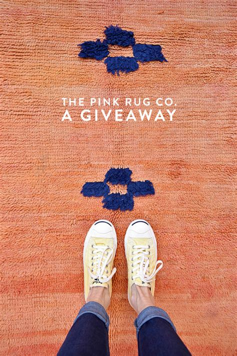 Pink Rug Co by A Giveaway From The Pink Rug Co Sfgirlbybay