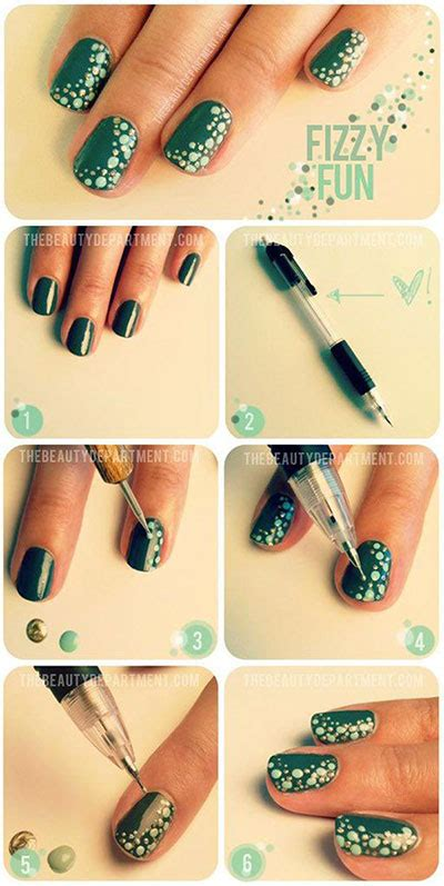 25 simple nail art tutorials for beginners 25 very easy simple step by step nail art tutorials for