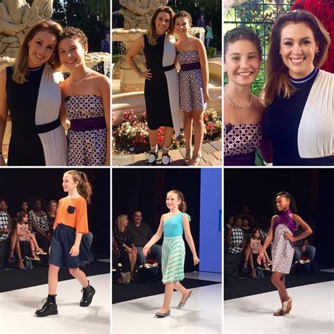 11 year old designer noa sorrell makes runway debut see highlights from la fashion week ss2016 at taglyan complex