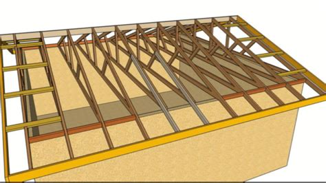Hip Roof Barn by How To Fix Sagging Roof Overhang Nailing New Rafters