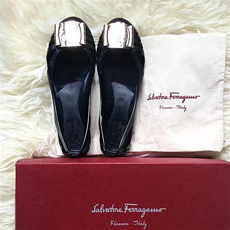Salvatore Ferragamo Bermuda Jelly Flats Ss17 authentic salvatore ferragamo bermuda jelly flat shoe luxury on carousell