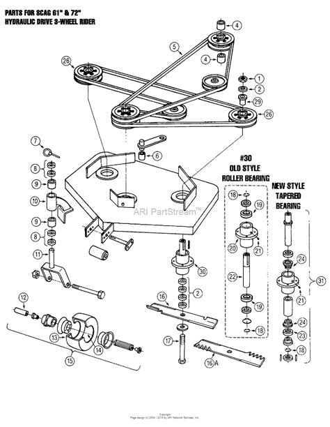 scag turf tiger 61 wiring diagrams wiring diagram