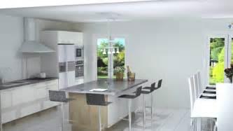 cuisines ilot central id 233 es de d 233 coration et de mobilier