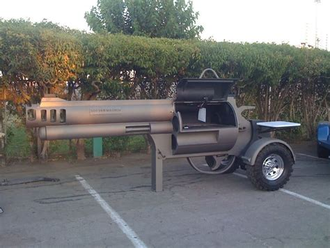 Backyard Driving Range Smoking Gun Bbq Grill The Official Scott Roberts Website