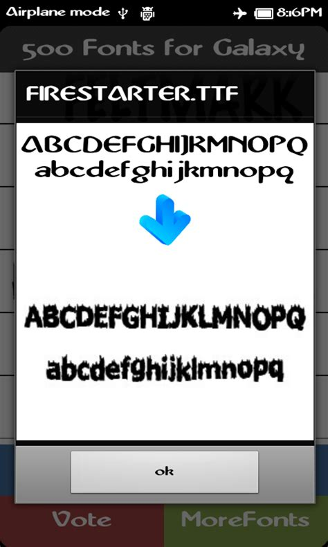 best font app for android 500 best fonts for galaxy android apps on brothersoft