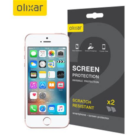 8 ways to keep your screens looking brand olixar iphone se screen protector 2 in 1 pack