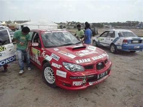 subaru india first rally subaru impreza wrx sti in india youtube