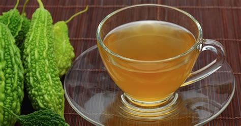 Bitter Melon Detox by Make Bitter Gourd Tea To Cleanse The Liver Improve Vision