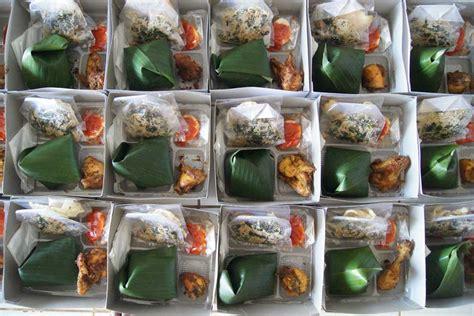 Jual Kotak Musik Jakarta Timur jual catering nasi kotak murah nasi bali paket eko 2