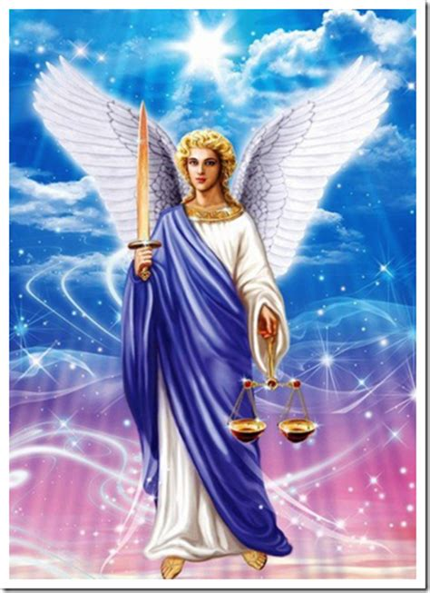 oracion de limpieza  proteccion  san miguel arcangel