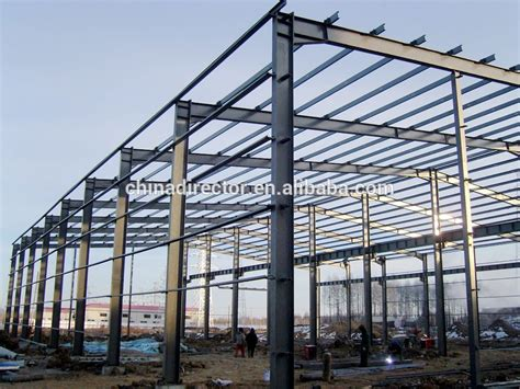 Steel Structure Shed by Professional Design Structural Steel Frame Workshop