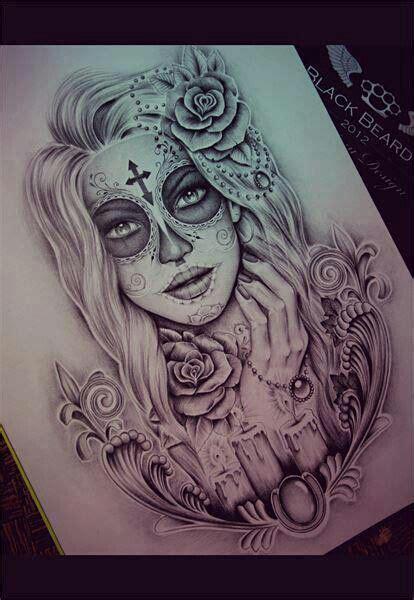 catrinas dise 241 os bocetos tatuajes 25 catrinas10