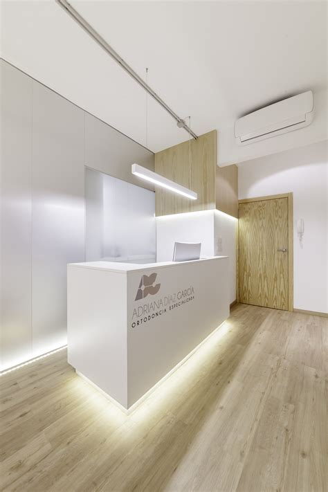 dental interior design 62 sqm small dental clinic design idea with trapezoid room