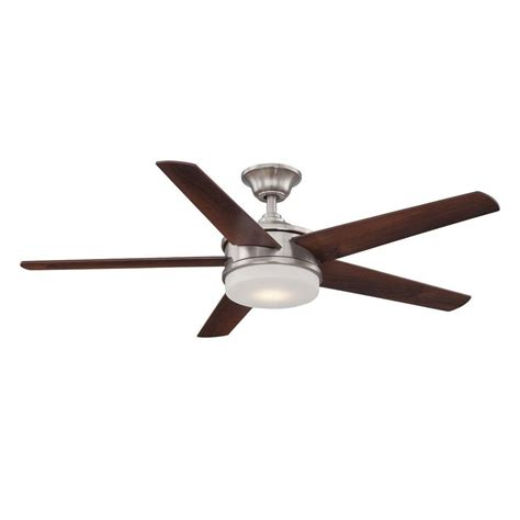 home decorators collection ceiling fan home decorators collection davrick 52 in led indoor