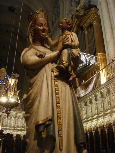 imagenes de la virgen maria wikipedia virgen blanca catedral de toledo wikipedia la