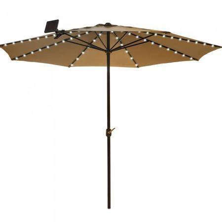 Umbrella Solar String Light Outdoor Solar Store Patio Umbrella String Lights