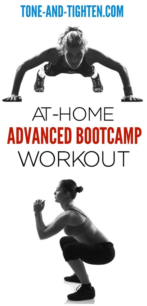 at home advanced bootc workout tone and tighten