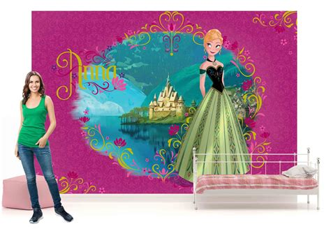 frozen xxl wallpaper disney frozen wall mural photo wallpaper xxl girls bedroom