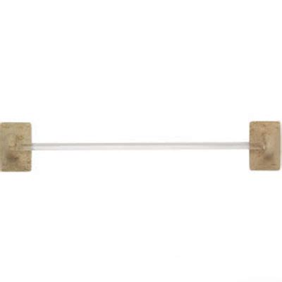 mohawk bath accessories travertine towel bar tile stone 62 33