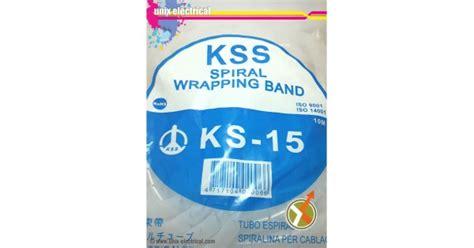 Kabel Spiral Wrapping Pembungkus Kabel Kss Ks 6 spiral cable wrap ks 15 kss