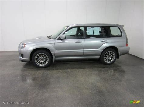subaru forester silver steel silver metallic 2008 subaru forester 2 5 x sports