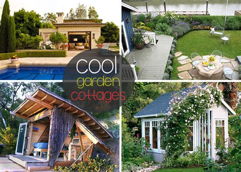 garden cottages  small sheds   outdoor space