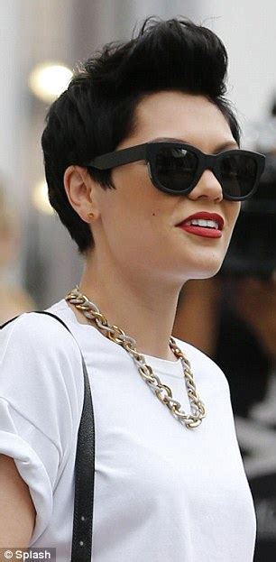 hairstyles for selfies jessie j hits beverly hills to shop post selfies and grab