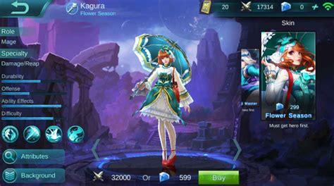 tutorial kagura mobile legends kagura mobile legends trending on plengdut