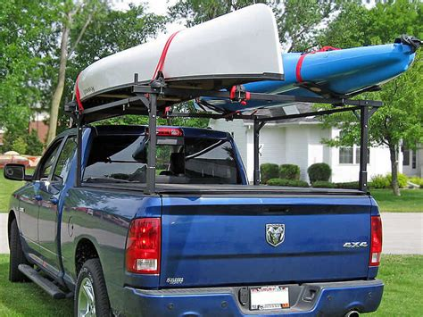 kayak rack for truck bed the stake pocket truck rack kayaking canoeing
