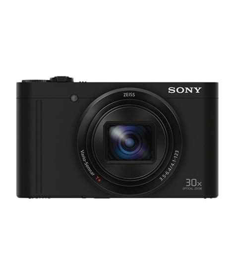 Digital Sony sony cybershot wx500 18 2 mp digital black price in india buy sony cybershot wx500 18
