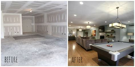 basement remodel before and after basement renovation before after finishing the basement