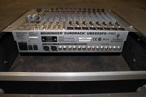 Mixer Behringer Ub2222fx behringer eurorack ub2222fx pro image 528442 audiofanzine