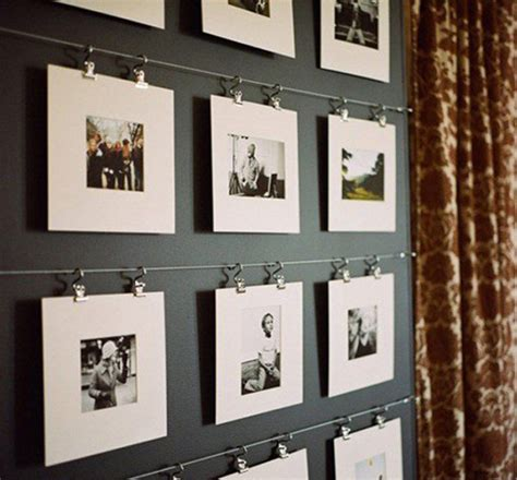 home wall display 22 beautiful ways to display family photos on your walls