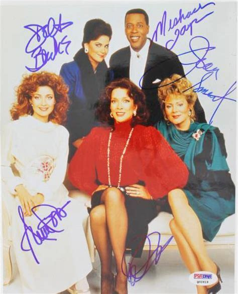 cast of designing women lot detail quot designing women quot rare cast signed 8 quot x 10