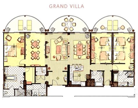 animal kingdom lodge 2 bedroom villa floor plan animal kingdom villas