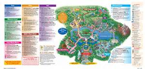 disney s animal kingdom map orlando theme park talk