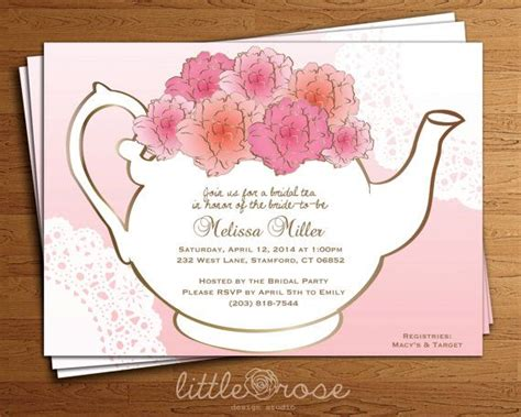 kitchen tea party invitation ideas 1000 images about party favors and things on pinterest