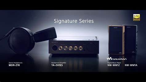 Sony As Series sony signature series official product