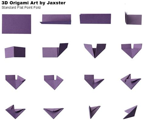 How To Make 3d Triangle With Paper - 17 best images about 3d origami d on origami