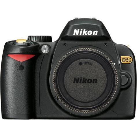 Kamera Canon Dslr D60 nikon d60 se slr digital only 25459 b h photo