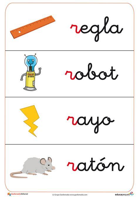 100 palabras que empiecen con r newhairstylesformen2014com fichas de letras con la letra del abecedario r