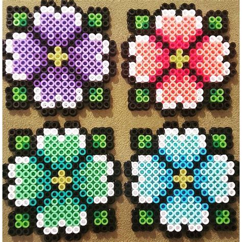 perler bead flower designs 2405 best images about hama on